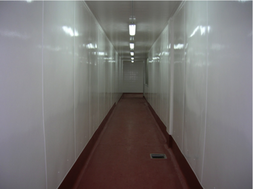 Revestimientos para paredes y techos PRFV